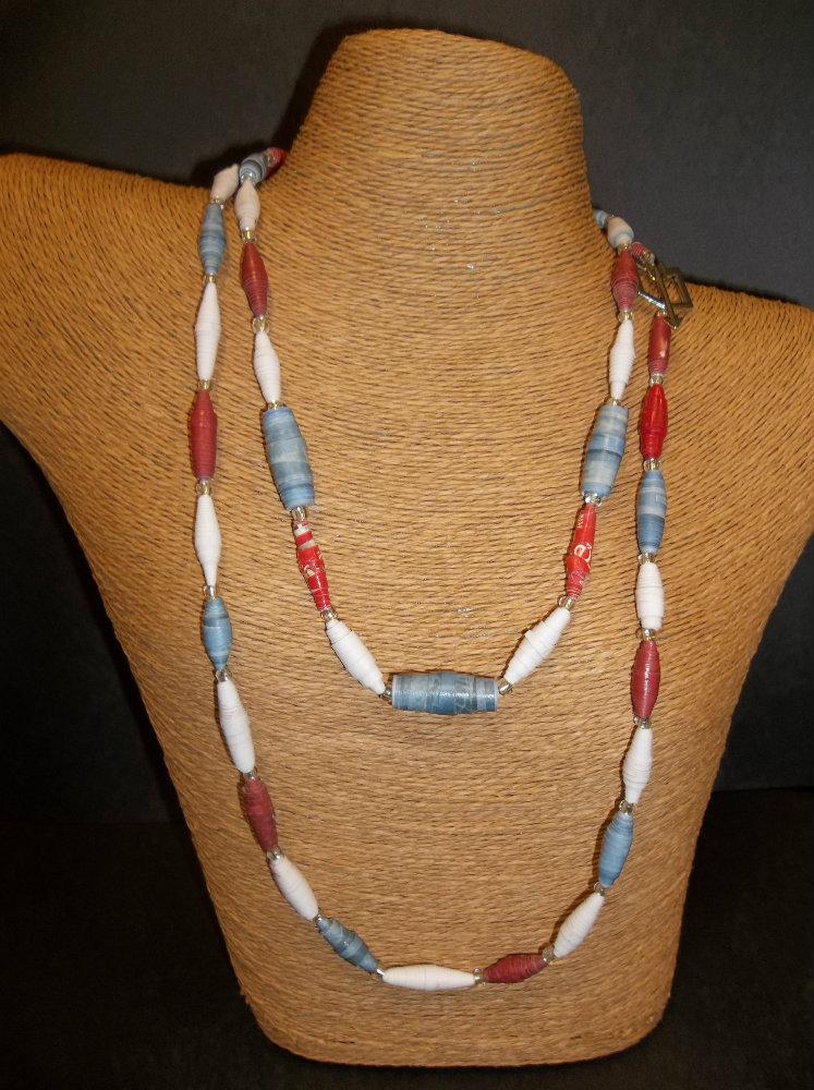 "Addyson Taft ""Acacia Paper Beads"""