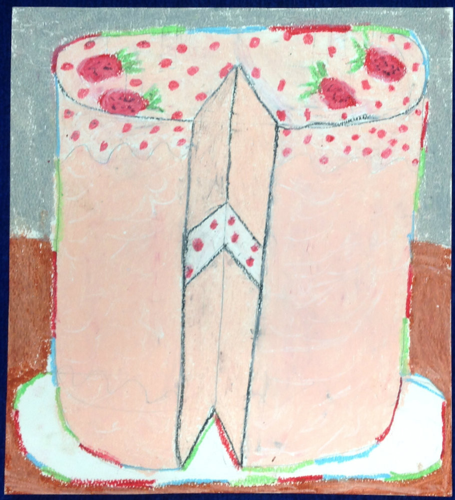 """April Britton """"Strawberry Cake"""""""