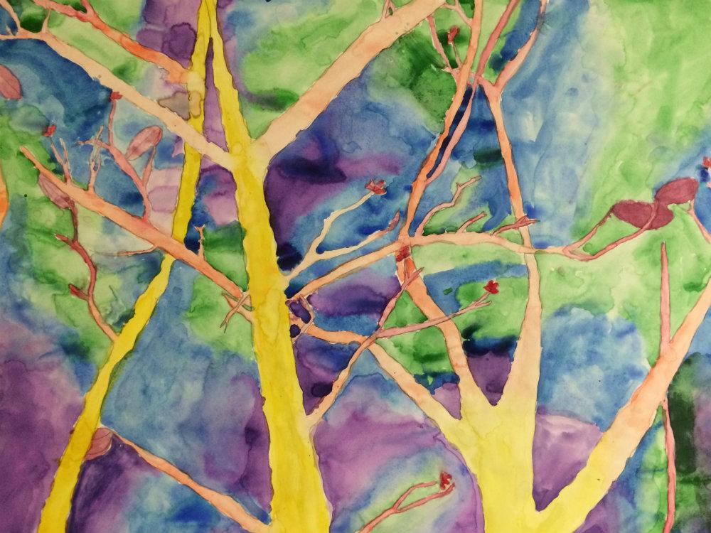 """Bridgett Turner """"Spring Tree"""""""