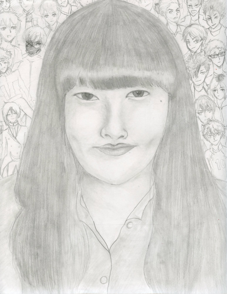 """Dana Kim """"DKs Self Portrait"""""""
