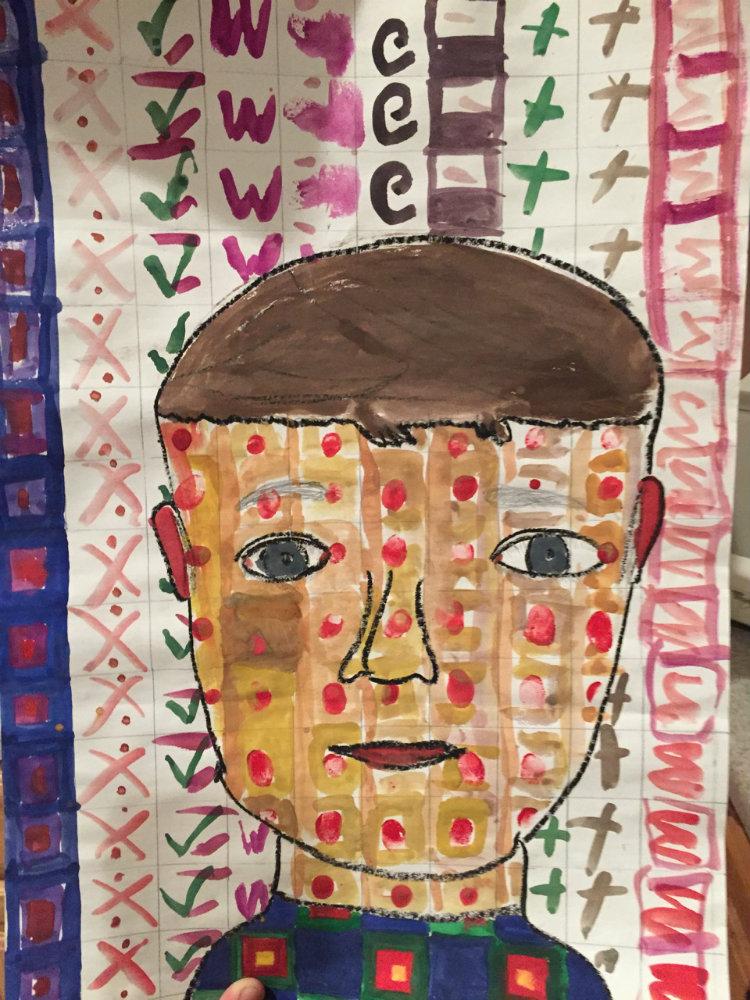 "Elijah Butler ""Self Portrait"""