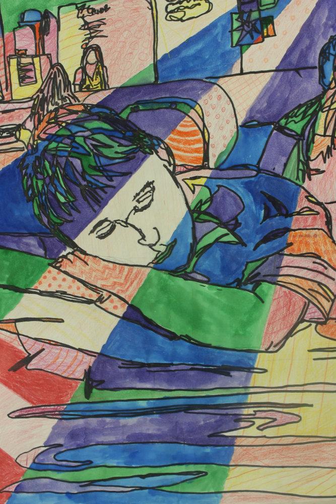 """Ian Rainey """"Falling Asleep in Class"""""""