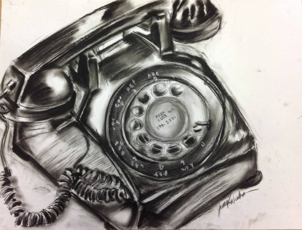 "Jim Dodson ""Old School iPhone"""