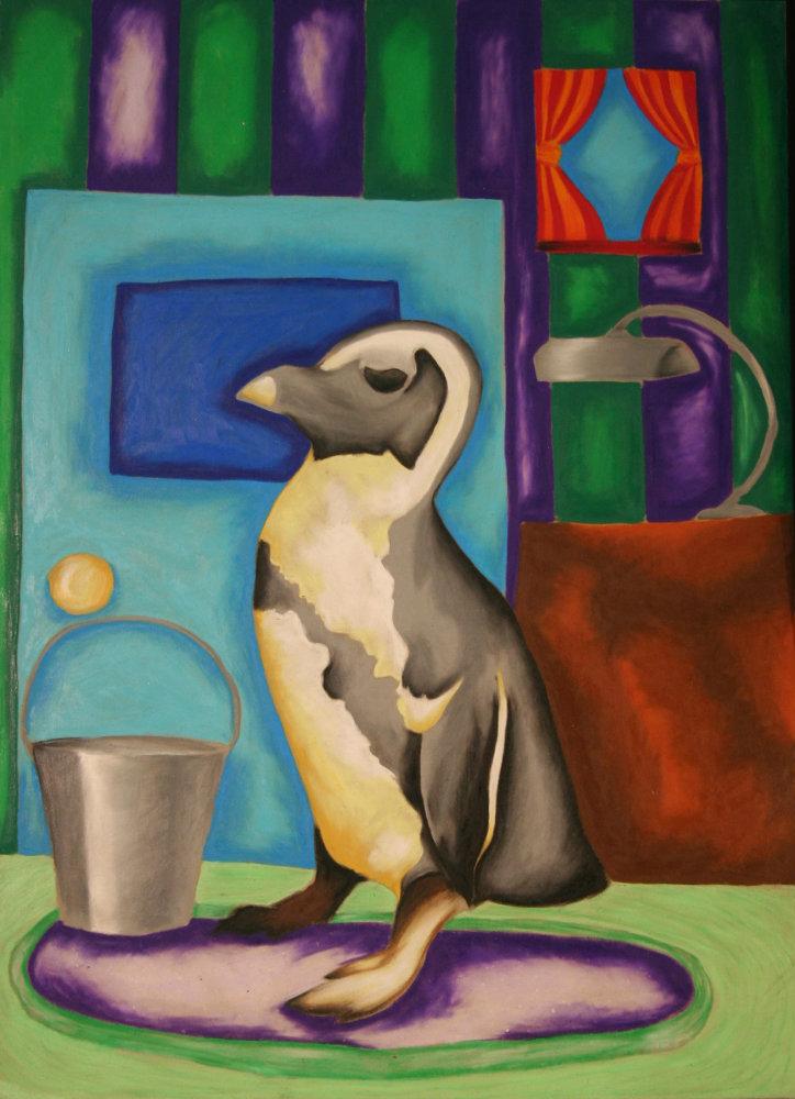 "Jordan Walter ""Oil Penguin"""