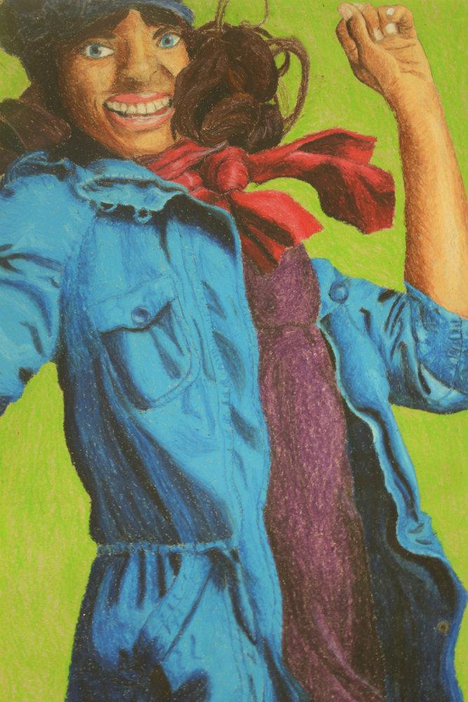 "Katherine Lin ""Girl in Blue Dress"""