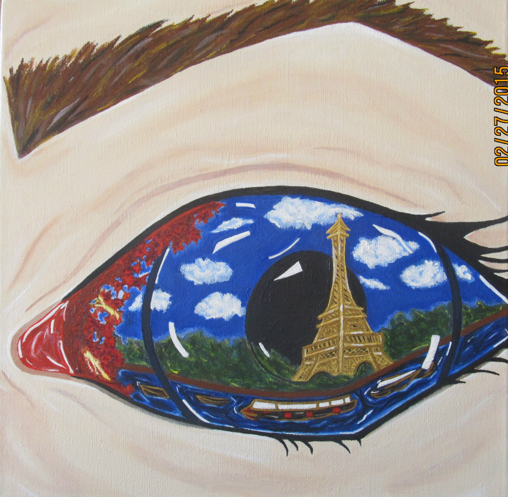 "Lindsey Fisher ""Eye Full Tower"""