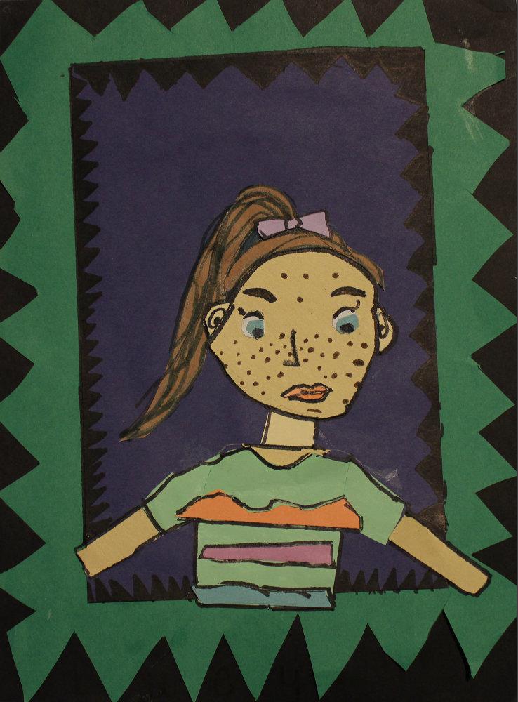 """Lucy Power """"Self-Portrait"""""""