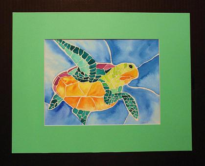 "Mary Bow ""Green Sea Turtle"""