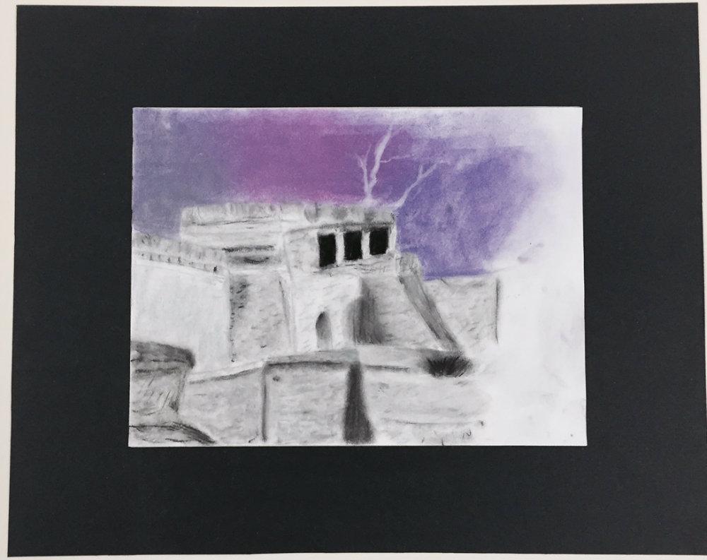 """Victoria Weir """"Purple Lightening"""""""